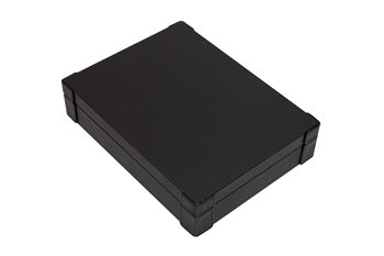 4-slot optical box black PU