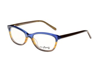 Acetate tr.blue/yellow/brown